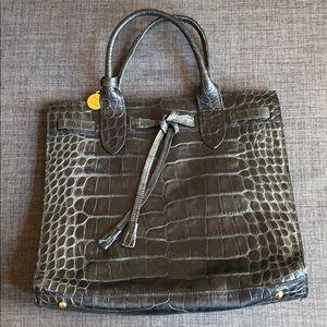 Vintage Dooney & Bourke Crocodile Hand Bag